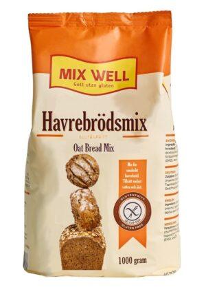 Glutenfri Havrebrödsmix från Mixwell