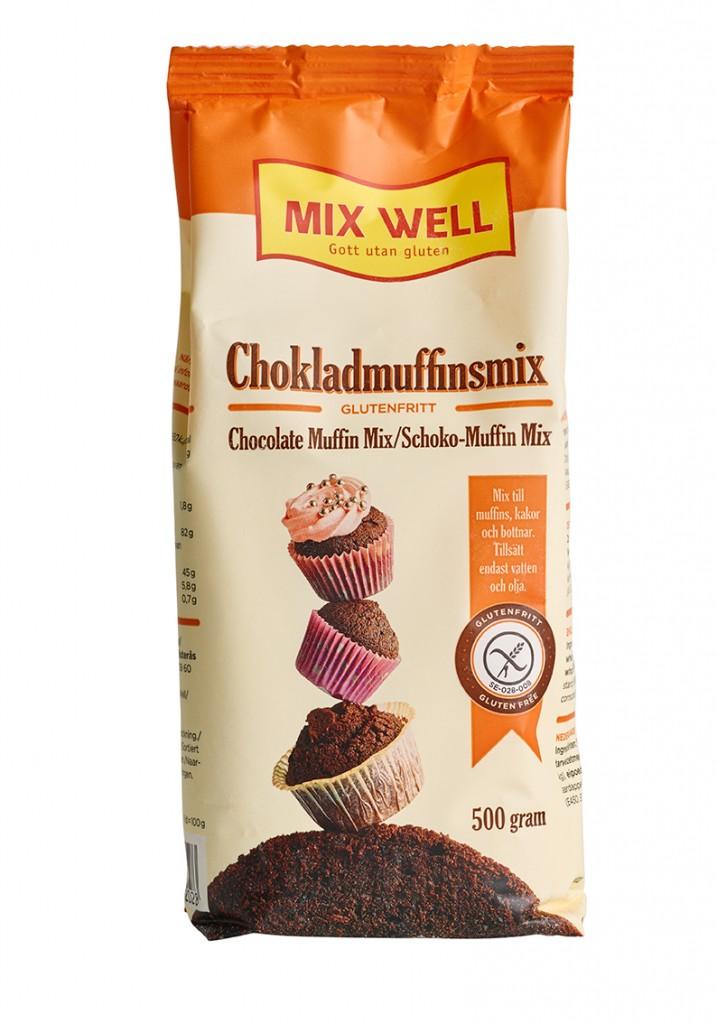 Glutenfri Chokladmuffinsmix