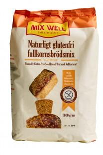 Naturligt glutenfri fullkornsbrödsmix