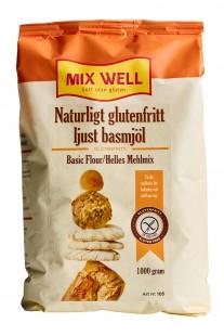 Naturligt glutenfritt ljust basmjöl