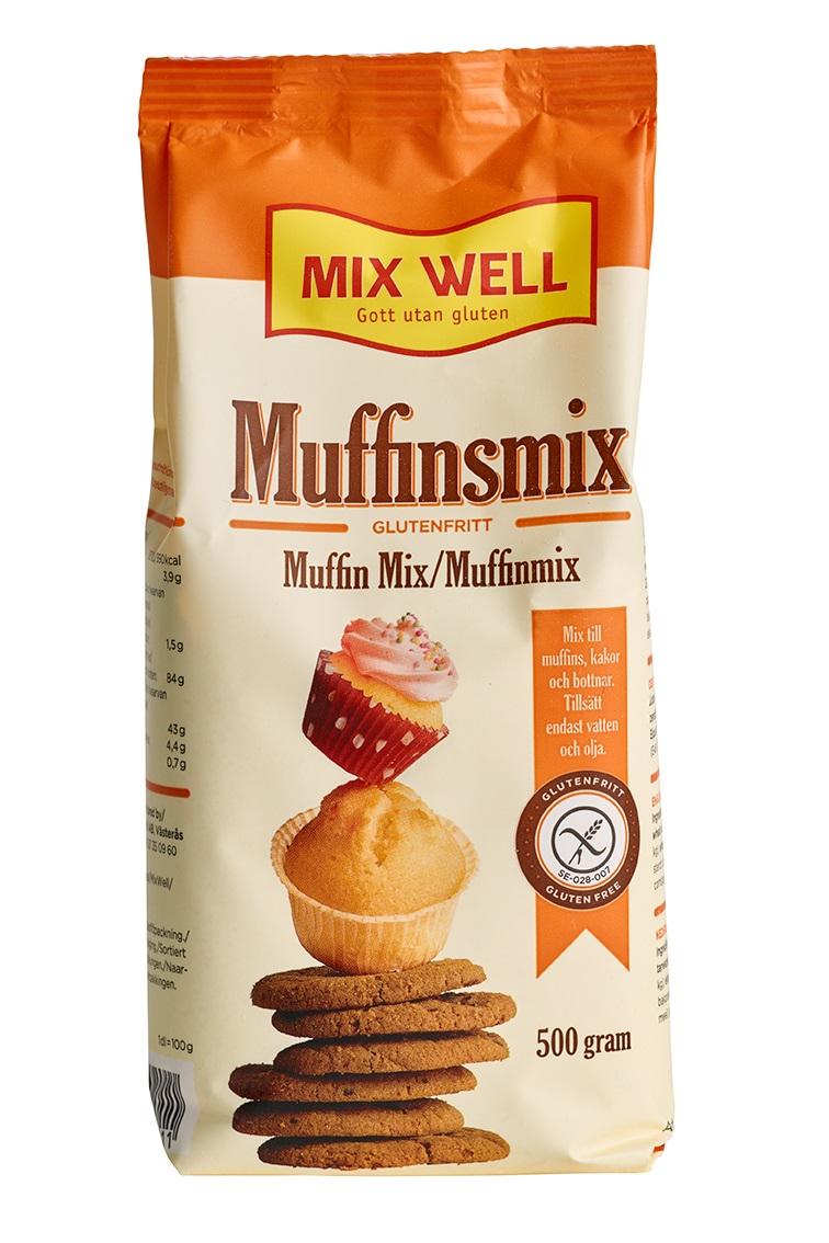 Glutenfri Muffinsmix