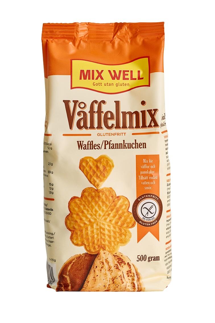 Glutenfri Våffelmix från Mixwell