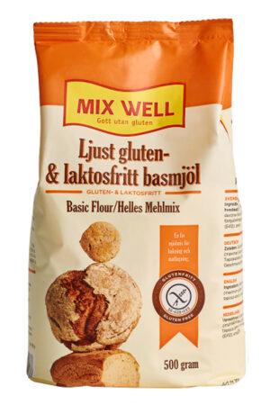 ljust gluten och laktosfritt basmjöl 500g