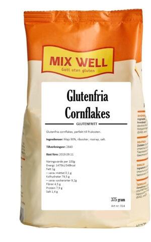 Glutenfria cornflakes