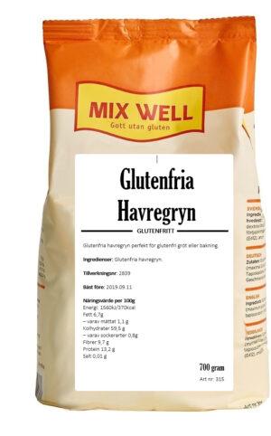 Glutenfria havregryn
