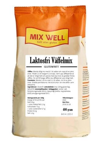 Laktosfri våffelmix