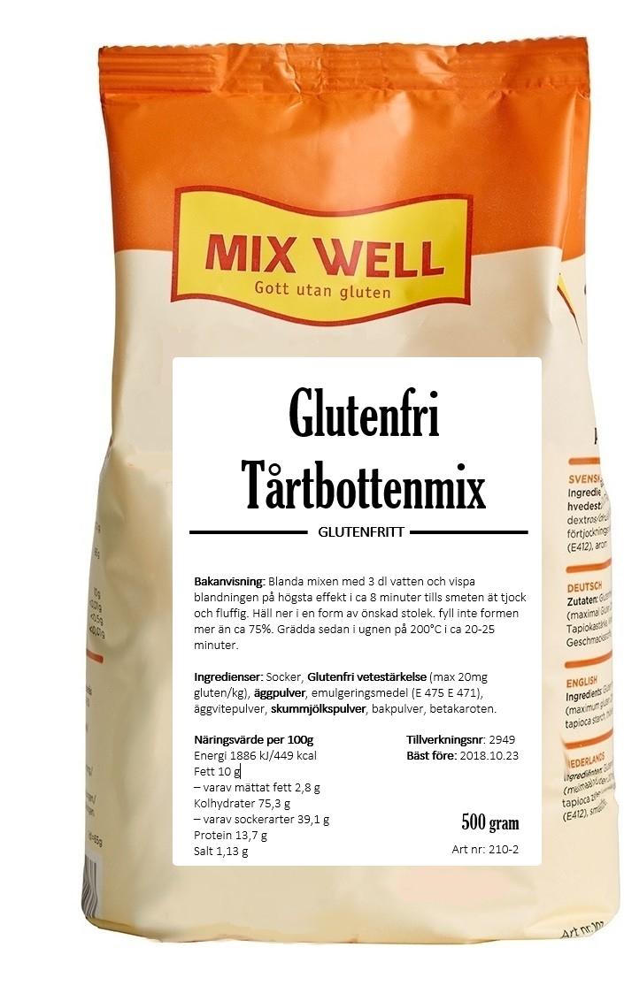 Glutenfri Tårtbottenmix