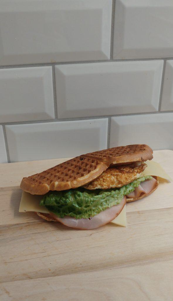 våffel sandwich